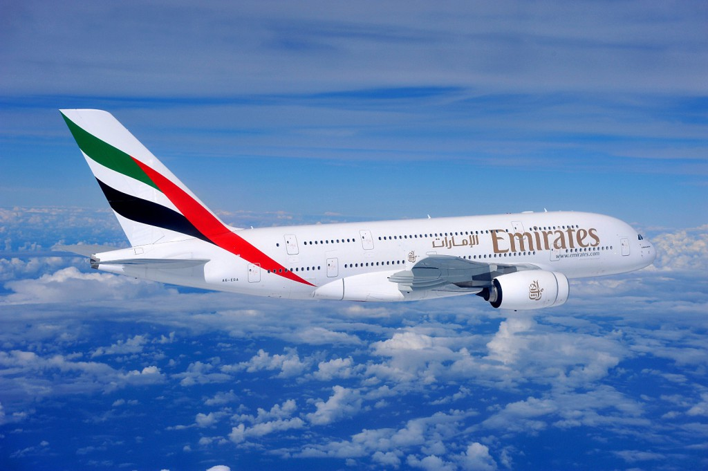 Emirates-Airbus-A380-aircraft